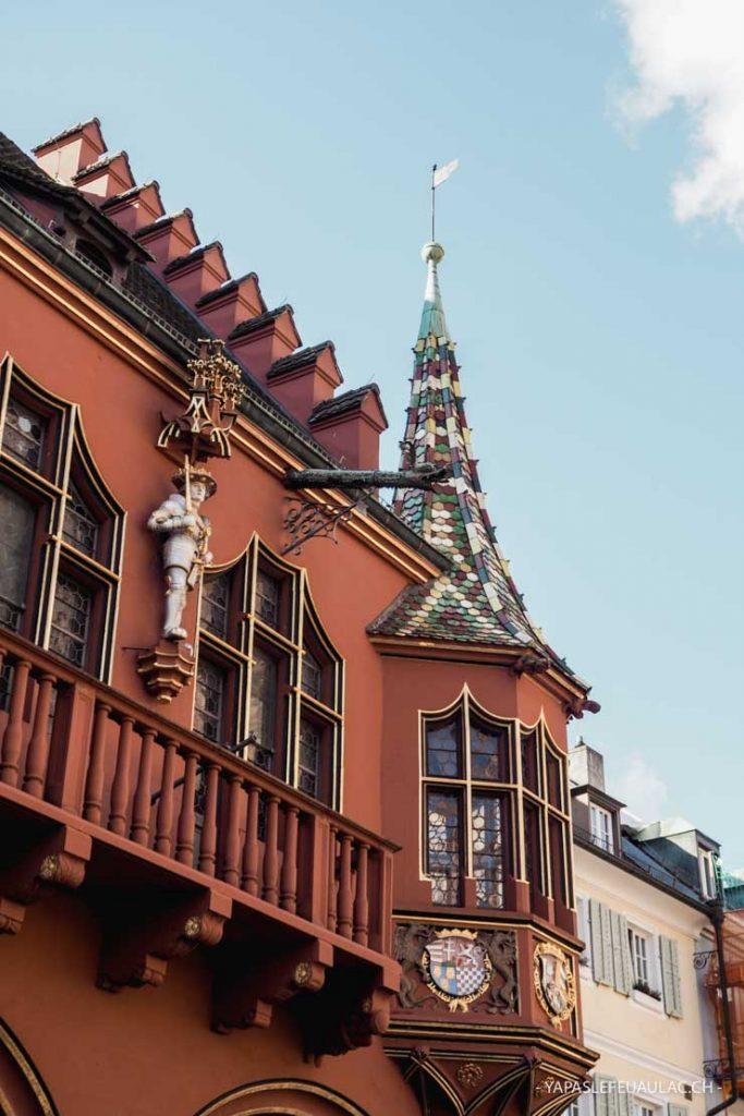 Historisches Kaufhaus (Maison historique des marchands) à Freiburg