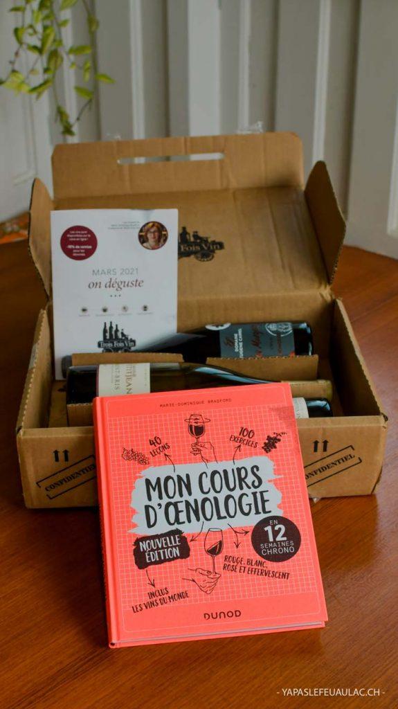 Avis sur TroisFoisVin, la box vin. Trois bouteilles à déguster dans le colis de vin. Une bonne idée pour la fête des mères ou fête des pères