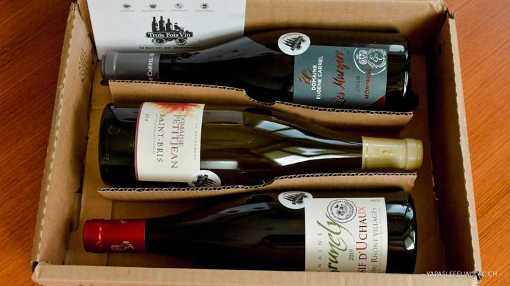 Mon avis sur la box vin TroisFoisVin: elle nous invite à découvrir des cépages moins connus... Un vrai tour de France!