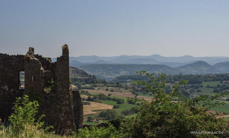 Vue depuis La Forteresse de Polignac - que faire autour du Puy en Velay