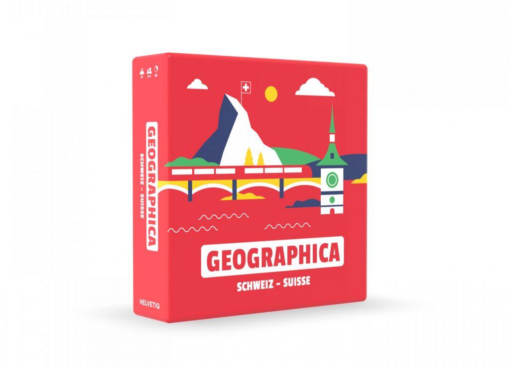 Apprendre la géographie suisse avec le jeu Geographica!