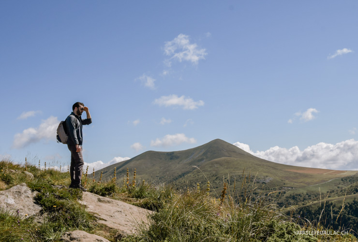 Rando sur le Puy de Sancy - road-trip en Auvergne sur le blog