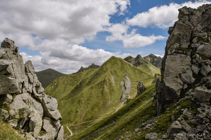 Randonner Puy de Sancy - inspiration sur le blog - escapade en Auvergne - Yapaslefeuaulac