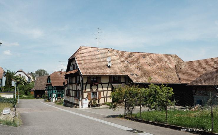 Que voir dans le Sundgau? Le village de Friesen