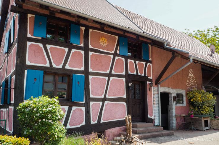 Friesen dans le Sundgau, un village à colombages sans touristes en Alsace