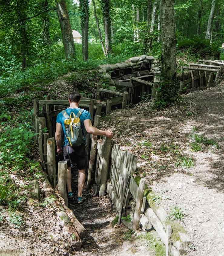 Chemin de la mémoire dans le Sundgau - Première guerre mondiale