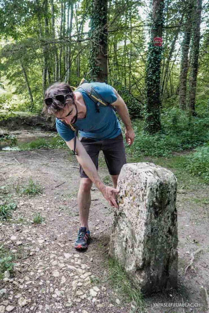 A la frontière du Jura Suisse: Le circuit du kilomètre zéro en Alsace