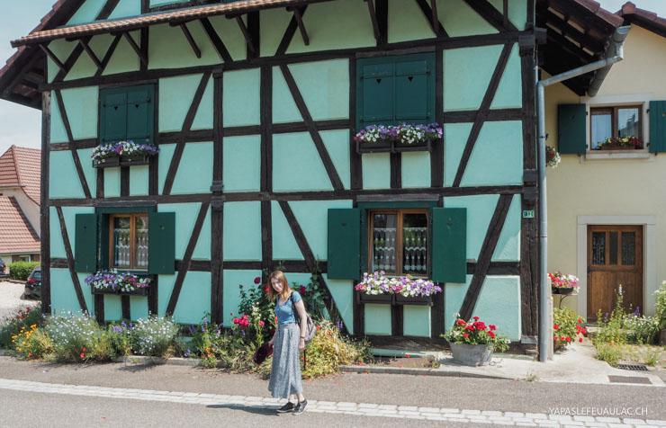 Patrimoine d'Alsace: les maisons à colombages