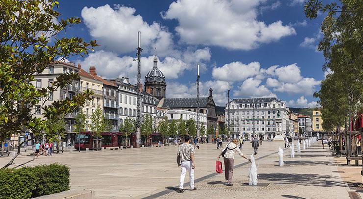 Clermont-Ferrand, place de Jaude