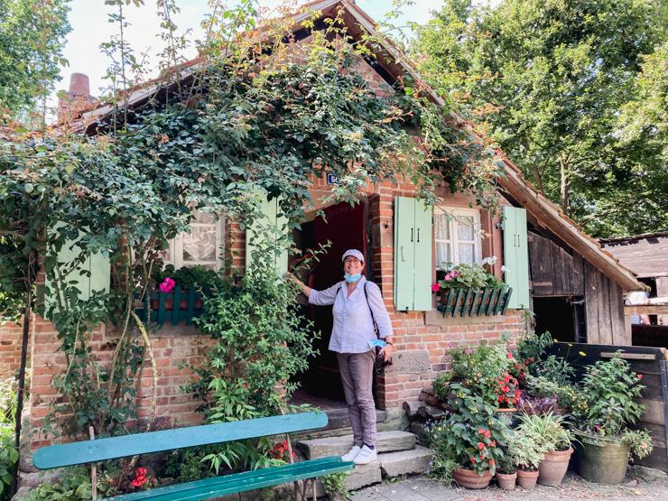 A l'Ecomusée d'Alsace autour de Mulhouse