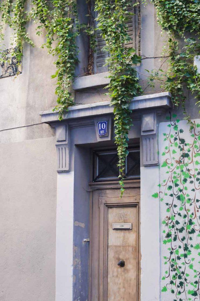 Dans les rues de la ville d'Auvergne
