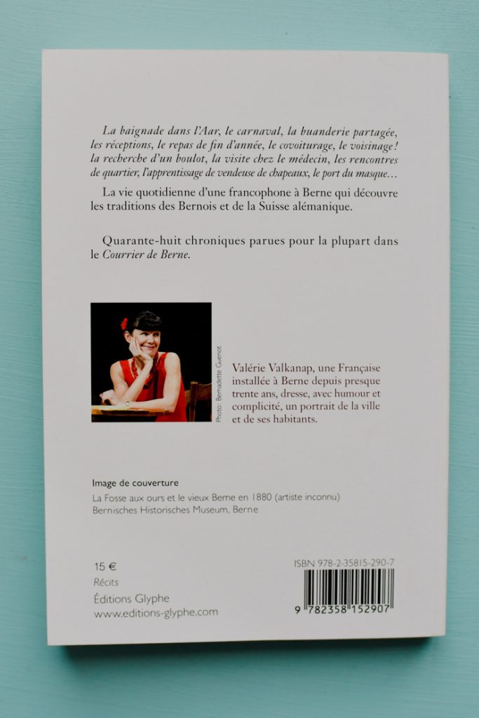 Chroniques bernoises - Valérie Valkanap